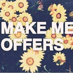I ACCEPT MOST OFFERS!!!!